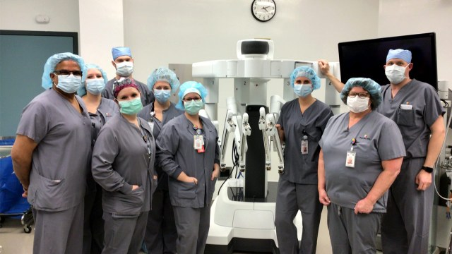 First Robotic Kidney Surgery at ThedaCare Medical Center-Berlin